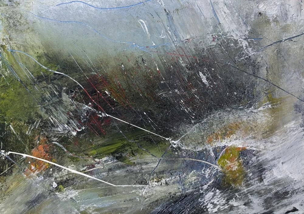 Storm Lashing the Glen